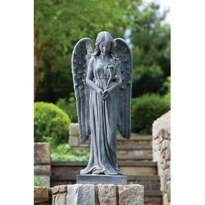 Standing Angel Statue by Alfresco Home