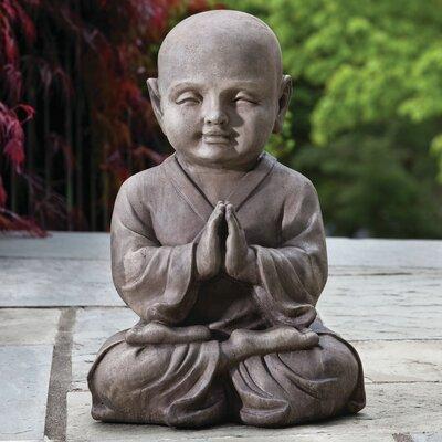 Praying Buddha Statue by Alfresco Home