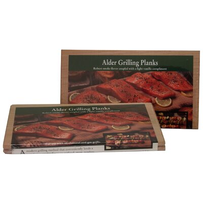 2 Count Alder Grilling Plank by NaturesCuisine