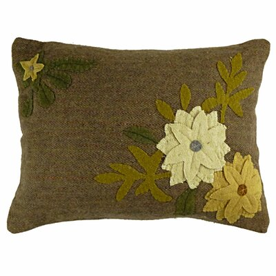 Primitive Daffodil Lumbar Pillow by Homespice Decor