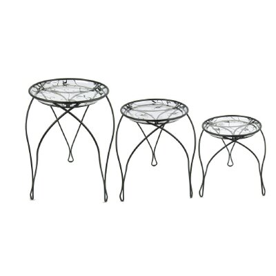 Elegance Plant Nesting Tables by Plastec