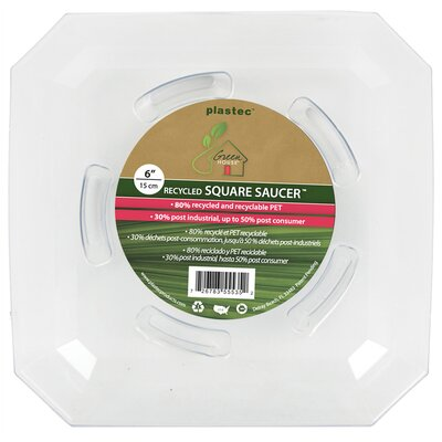 Plastec Novelty Saucer Planter