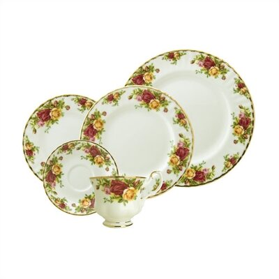 Old Country Roses Dinnerware Collection by Royal Albert