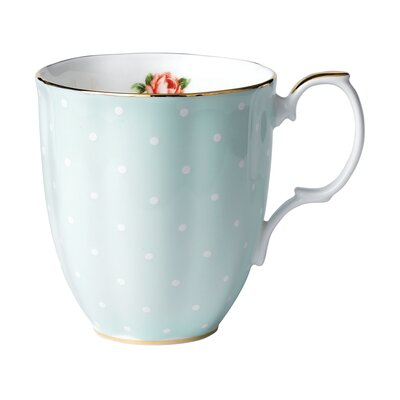 Royal Albert 100 Years Polka Rose Mug