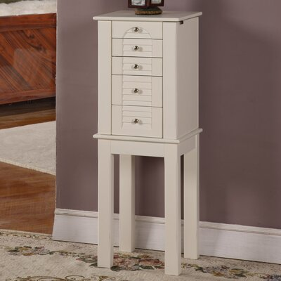 Winston Jewelry Armoire with Mirror by Wildon Home ®