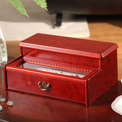 Cosmopolitan Two Drawer Jewelry Box by Wildon Home ®