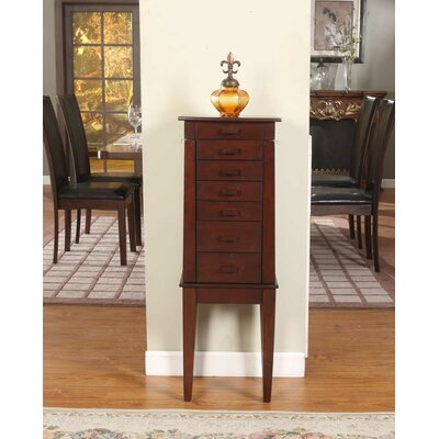 Sumba Yin Yang Jewelry Armoire with Mirror by Wildon Home ®