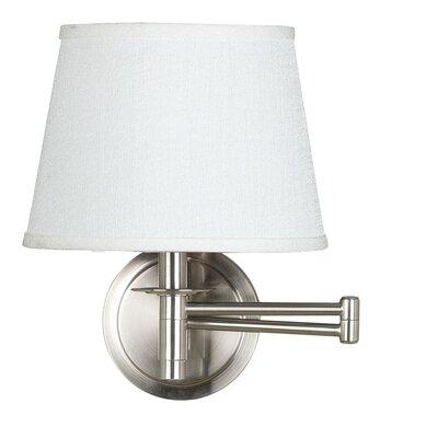Wildon Home ® Candia 1 Light Swing Arm Wall Lamp