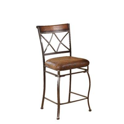 "Wildon Home ® Tavio 24"" Bar Stool with Cushion"