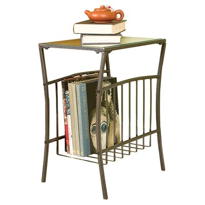 Wildon Home ® Hermitage End Table with Magazine Storage