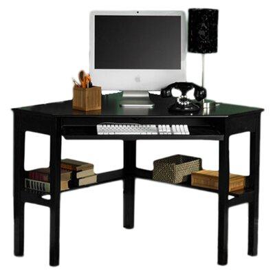 Wildon Home ® Parson Shelby Corner Desk in Black