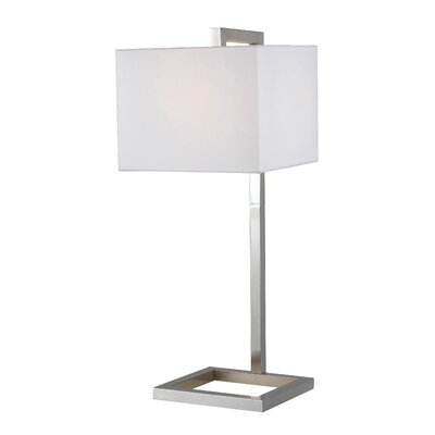 """Wildon Home ® 4 Square 30"""" H Table Lamp with Square Shade"""