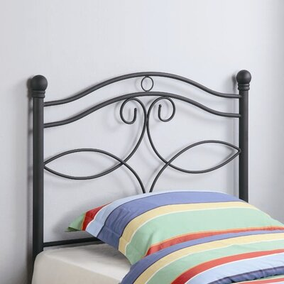 Wildon Home ? Bowdoin Twin Metal Headboard Headboard 450102T