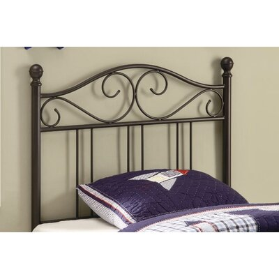 Wildon Home ? Bowdoin Transitional Twin Metal Headboard Headboard 450103T