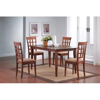 Wildon Home ® Crawford Wheat Back Chair in Walnut