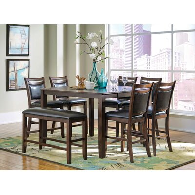 8 Piece Dining Set by Wildon Home ®
