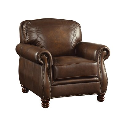 Leather Club Chair by Wildon Home ®