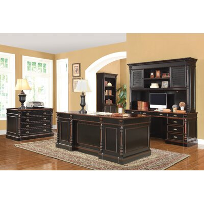 3-Piece Rectangular Desk Office Suite by Wildon Home ®