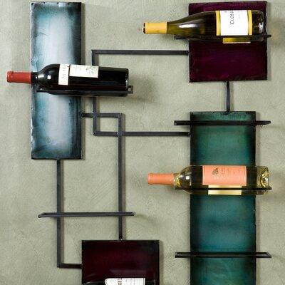 Wildon Home ® Castlehaven  8 Bottle Wall Mounted Wine Rack