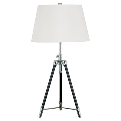"Wildon Home ® Surveyor 33"" H Table Lamp with Empire Shade"