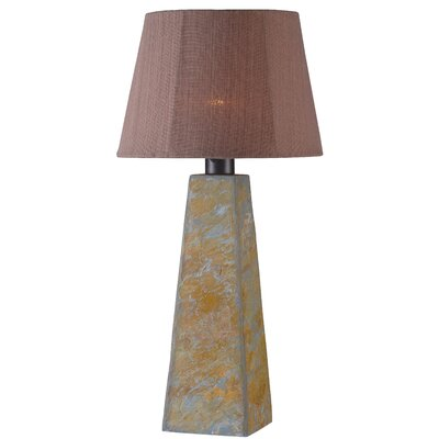 Wildon Home ® Outdoor Roberta Table Lamp with Empire Shade
