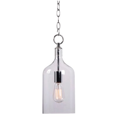 Capri 1 Light Mini Pendant Product Photo