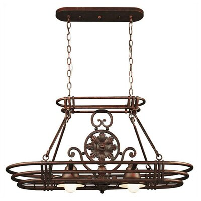 Dorada Lighted Hanging Pot Rack by Wildon Home ®