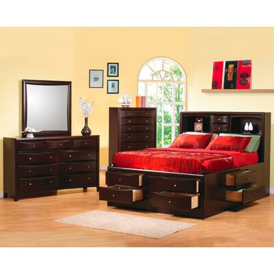 Wildon Home ® Applewood 9 Drawer Dresser with Mirror