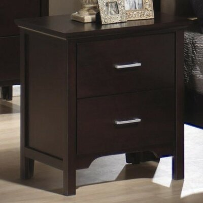 Morgan 2 Drawer Nightstand by Wildon Home ®