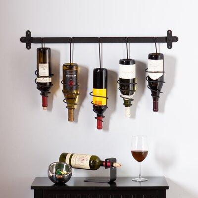 Carsten 5 Bottle Wall Mount Wine Rack by Wildon Home ®