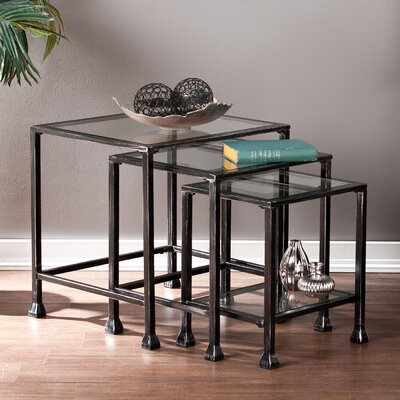 Socorro 3 Piece Nesting Tables by Wildon Home ®