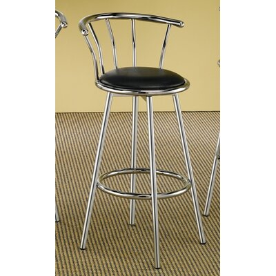 "Wildon Home ® Blachy 29"" Bar Stool with Cushion"