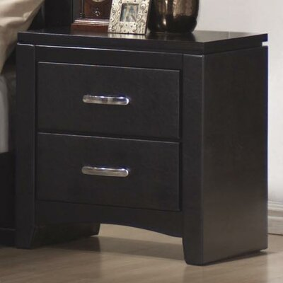 Kearny 2 Drawer Nightstand by Wildon Home ®