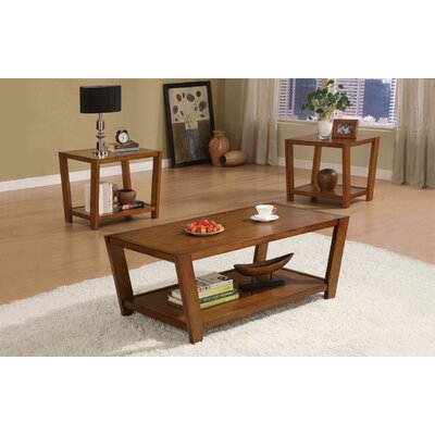 Wildon Home ® Amalga Angled 3 Piece Coffee Table Set
