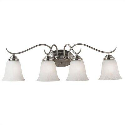 Wildon Home ® Sebastian 4 Light Vanity Light
