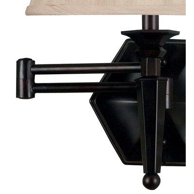 Wildon Home ® Chesapeake Swing Arm Wall Lamp