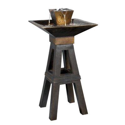 Wildon Home ® Copper Kenei Outdoor Floor Fountain