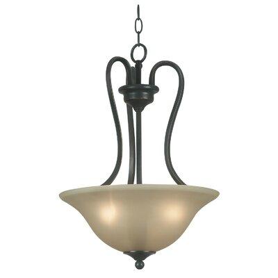 Wildon Home ® Helena 3 Light Inverted Pendant