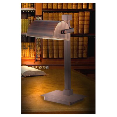 """Wildon Home ® Henrietta 15.88"""" H Table Lamp with Bowl Shade"""