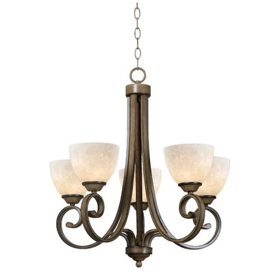 Wildon Home ® Dorset 5 Light Chandelier