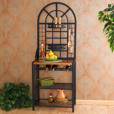 Wallace Bakers Rack in Black by Wildon Home ®