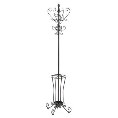 Wildon Home ® Kovar Coat Rack/ Hall Tree with Umbrella Stand