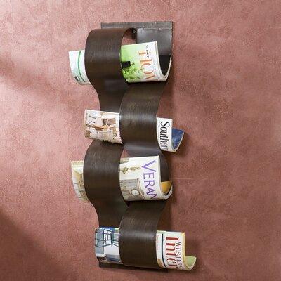 Corinthian Wall Mount Magazine Storage Rack by Wildon Home ®