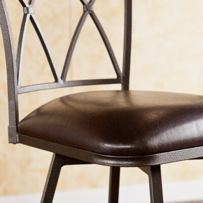 "Wildon Home ® Albertson 24.5"" Swivel Bar Stool with Cushion"