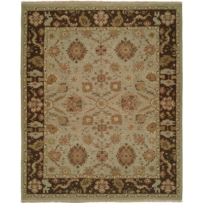 Light Blue / Brown Rug by Wildon Home ®