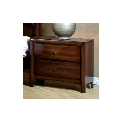 Hillary 2 Drawer Nightstand by Wildon Home ®