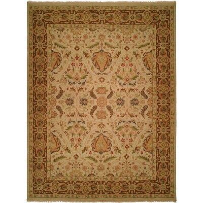 Carol Bolton Hand-Knotted Spring Sienna Area Rug by Wildon Home ®