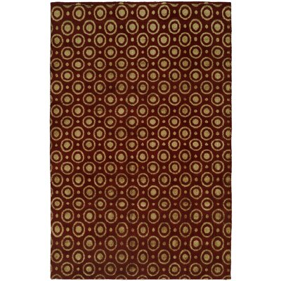Gramercy Handmade Red Area Rug by Wildon Home ®