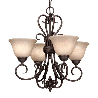 Sienna 4 Light Mini Chandelier Product Photo