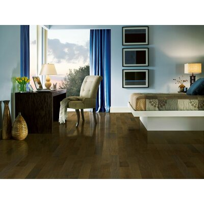 "Wildon Home ® 5"" Engineered Walnut Hardwood Flooring in Deep Twilight"